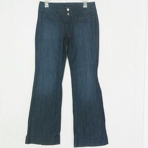 WHBM Dark Wash Flare Jeans